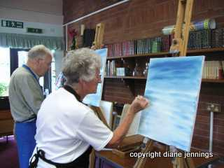 PAINTING MY WAY ART CLASSES IN SHROPSHIRE