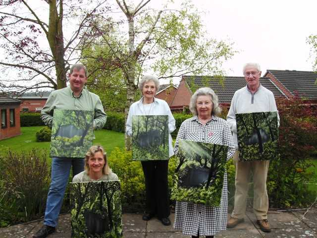 art class in shropshire with artist diane jennings